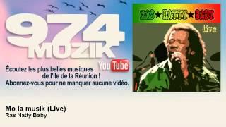Ras Natty Baby - Mo La Musik - Live - 974Muzik