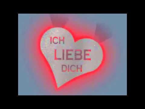 """Edelstahl Wandtattoo der ultimative Lifestyle Wandschmuck: Motiv """"Ich liebe Dich"""""""