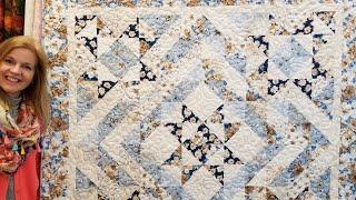 Donnas FREE Pattern - Five Star Quilt!