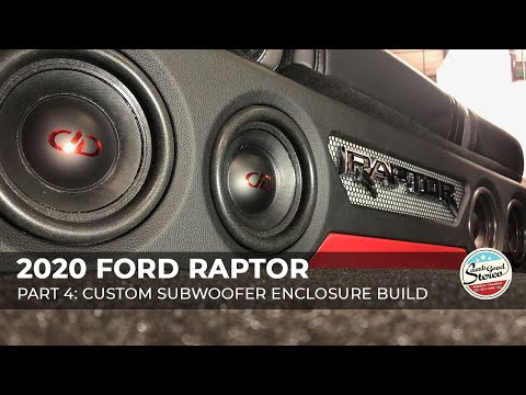 2015-2020 Ford F-Series SuperCrew Truck Custom Level 5 Subwoofer Enclosure Box (Including Raptor)