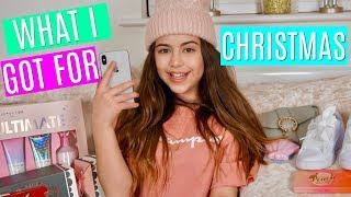 WHAT I GOT FOR CHRISTMAS 2017 | SOPHIA GRACE