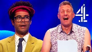 Richard Ayoade Has Thoughts on Flat Earthers & Climate Change... | The Last Leg