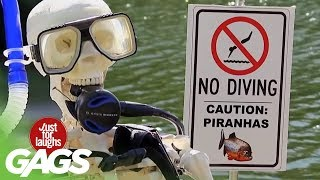 Live Ducks, Piranhas, and Explosion Pranks - Throwback Thursday