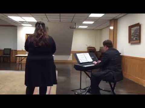 This was my performance my senior year of highschool. I made a superior at the state level on this song alleluja by mozart.