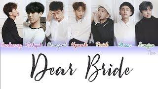 BTOB (비투비) - DEAR BRIDE Lyrics (Color Coded/ENG/ROM/JPN) 