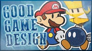 Good Game Design - Paper Mario: The Origami King