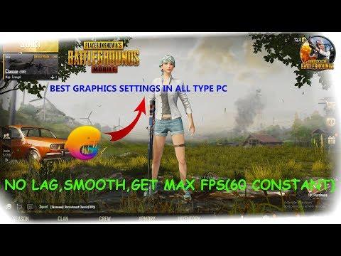 PUBG l MOBILE l Best Graphics Setting l High FPS