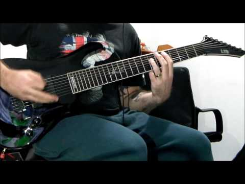 LTD SC-608B - Stomp - Original 8 String Guitar Song