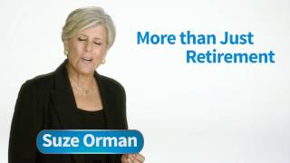 Social Security - Not Just a Retirement Program! | Suze Orman