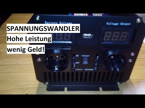 Günstiger 2500/5000 Watt Spannungswandler Inverter # Solar Wind Turbine Power