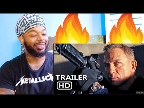 New James Bond! NO TIME TO DIE Trailer | Reaction