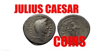JULIUS CAESAR Ancient Silver Roman Coins & Coins Related for Sale on eBay by Expert