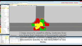 Vissim Tutorial - Lesson 6 - Create unsignalized intersection