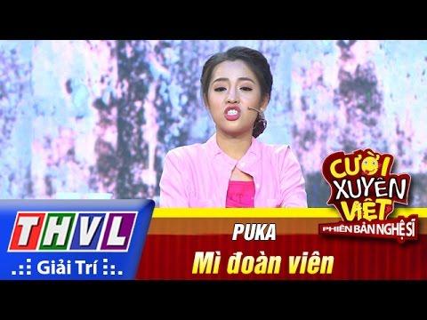 THVL | Cười xuyên Việt - Phiên bản nghệ sĩ 2016 | Tập 11 [3]: Mì đoàn viên - Puka