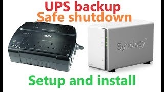 APC Back-UPS ES 700 install and Synology Diskstation shutdown
