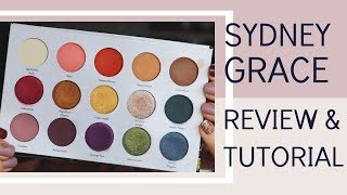 Indie Makeup Review: Sydney Grace Autumn's Reign Eyeshadow Palette | Bailey B.