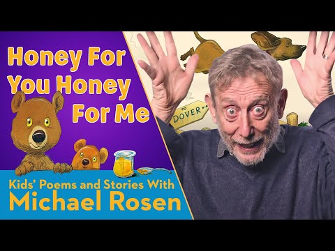 Review of the Day: Honey for You, Honey for Me, compiled by Michael Rosen, ill. Chris Riddell