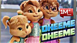 Dheeme Dheeme ||| Cartoon Version. ||| Tony Kakkar, Neha Kakkar || New Cartoon Version Song ||