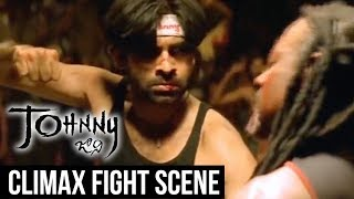 Johnny Climax Fight Scene || Pawan Kalyan, Renu Desai || Ramana Gogula || Geetha Arts
