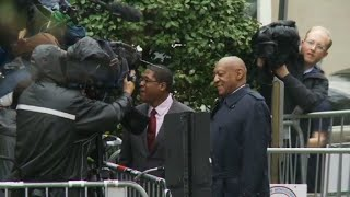 Bill Cosby arrives at court as jury set to start deliberations