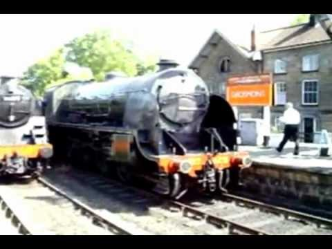 North Yorkshire Moors Railway - Grosmont Loco Depot