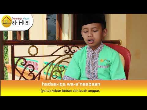 Hafalan Al Qur'an Anak Yatim
