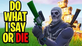 """Playing """"CRISPY SAYS"""" In Fortnite Battle Royale #3"""