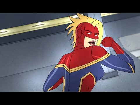 Captain Marvel | Marvel's Avengers: Secret Wars | Disney XD