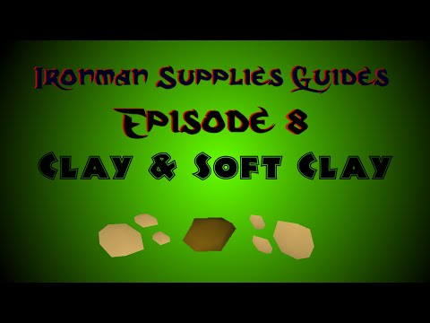 Fastest Way To Obtain Soft Clay On A Low Level Ironman! (OSRS