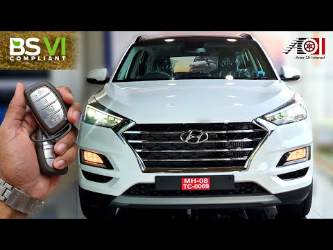 New Hyundai Tucson Facelift BS6 AWD | On Road Price List | Mileage | Features | Specs | Sunroof