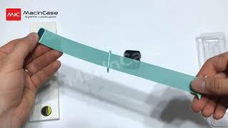 Ремешок STR Milanese Loop Band for Apple Watch - Marine Green