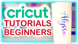 HOW TO PERSONALIZE COFFEE MUGS WITH CRICUT FOR BEGINNERS | CRICUT TUTORIALS FOR BEGINNERS