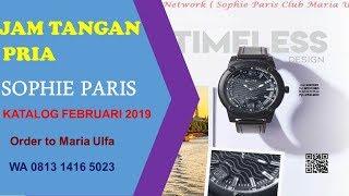 JAM TANGAN COWOK ALIVE SOPHIE PARIS februari 2019 order to maria ulfa ( wa  0813 1416 9598307aef