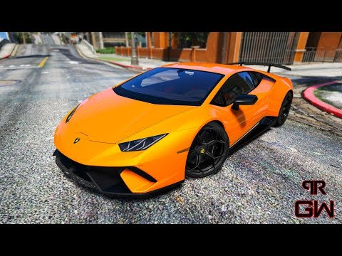 Lamborghini Huracan Performante 2018 Walkaround & Customization Trailer (Visual V, NVR & MVGA) GTA 5