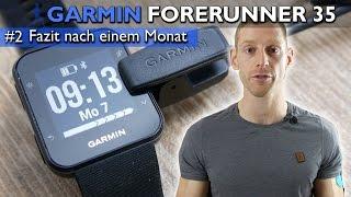 Garmin Forerunner 35 im Test: FAZIT nach einem Monat [deutsch] #2 | 4K