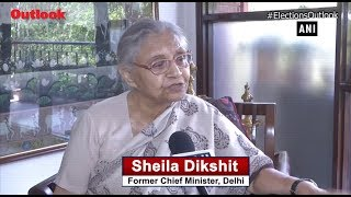 People Have Right to Vote for Whichever Party: Sheila Dikshit on Kejriwal's Muslim Votes Remark