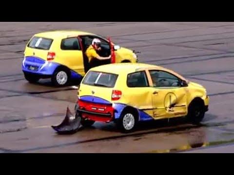 Car Football! VW Fox takes on the Aygo – Top Gear – BBC autos