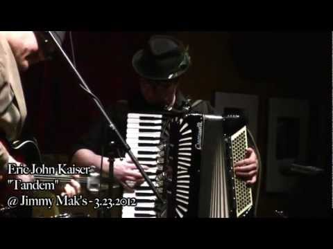 """Tandem"" by Eric John Kaiser and his band live at Jimmy Mak's in Portland, Oregon"