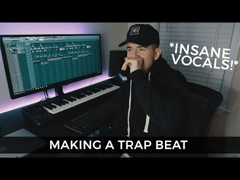 INSANE VOCALS!! How To Use Vocal Samples In Trap Beats | Making A Trap Beat FL Studio 12 Mp3