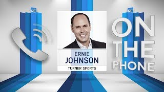 Turner Sports Ernie Johnson Talks NCAA Tournament with Rich Eisen | Full Interview | 3/23/18