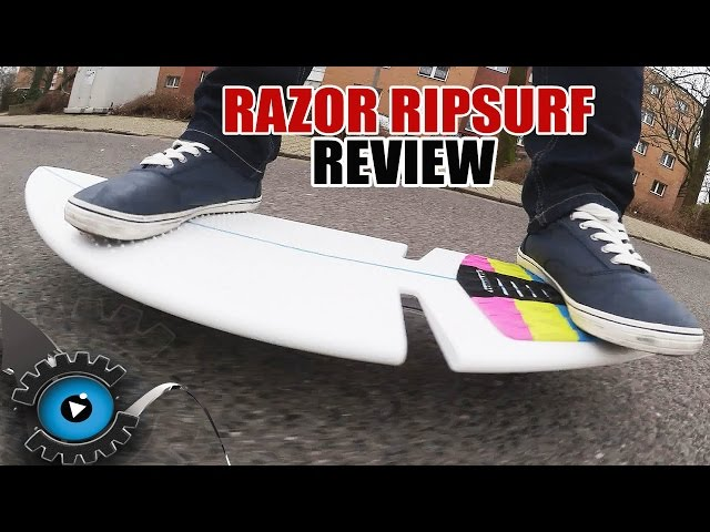 Razor RipSurf Review/Test - Surfboard mit Räder? - [Deutsch/German]