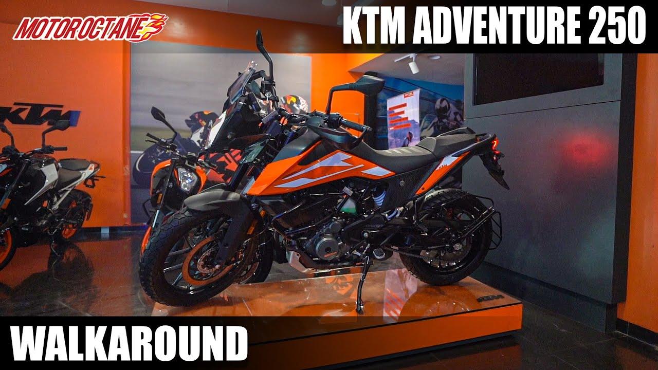 Motoroctane Youtube Video - KTM Adventure 250 Walkaround - Cheaper Adventure? | MotorOctane