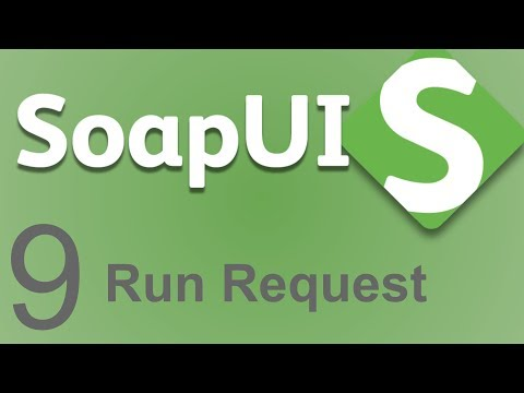 SoapUI Beginner Tutorial 9 - How to run a Request   from GUI ...