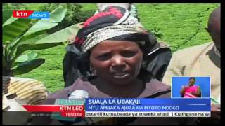 KTN Leo: Mwanamume mmoja kaunti ya Muranga ambaka ajuza na mtoto mdogo, 13/ 10/2016