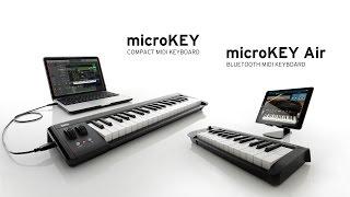 KORG MicroKey 2 Air 25 - Video
