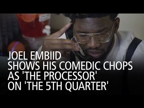 Joel Embiid Shows His Comedic Chops As 'The Processor' On 'The 5th Quarter'