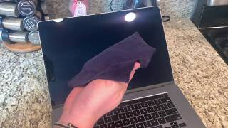 How to clean your MacBook Pro's computer screen fast- HOW TO CLEAN ANY SCREEN