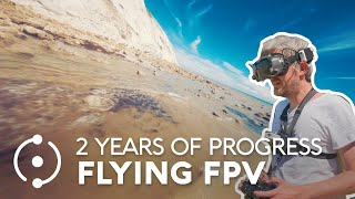 2 Years of Progress Flying FPV Drones (+ NICE GIVEAWAY)