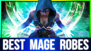 Skyrim Best Mage Build Armor at Level 1 (Archmage Robes Location)!