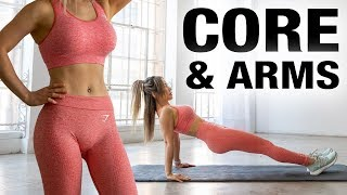 Tight Core & Arms Workout | 2 Weeks Shred Challenge